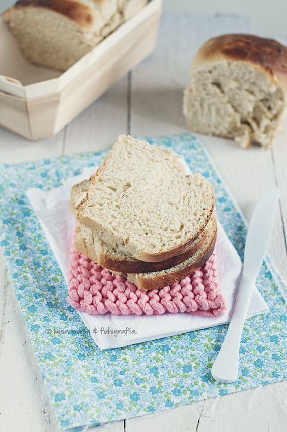 Pan de molde casero.   Cocinando con mi carmela.