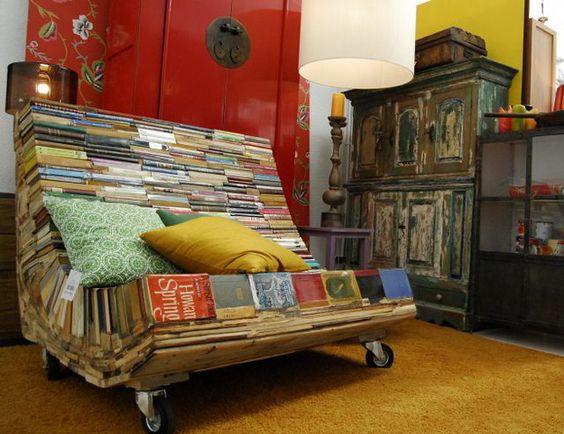 Book Bench!