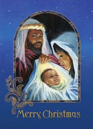 Black Nativity IV - African American Christmas Cards