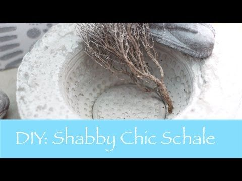 ▶ DIY: Betonschale mit individuellem Muster - YouTube