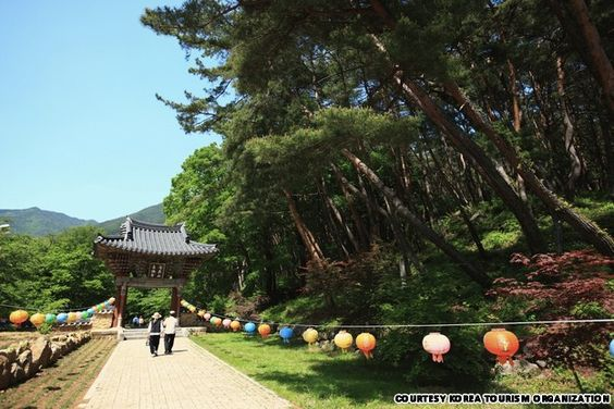 Cheoneunsa Temple (천은사) in Gurye, Jeollanam-do, Korea