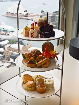 High Tea at the Shangri-La Hotel, Sydney.