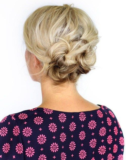 knotted+updo+for+short+hair