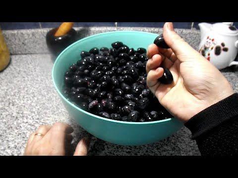 تخليل الزيتون الاسود بطريقة سهلة Youtube Food Fruit Blackberry