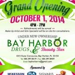 Bay Harbor Drugs & Beauty Bar Grand Opening: http://www.soflanights.com/?p=116476
