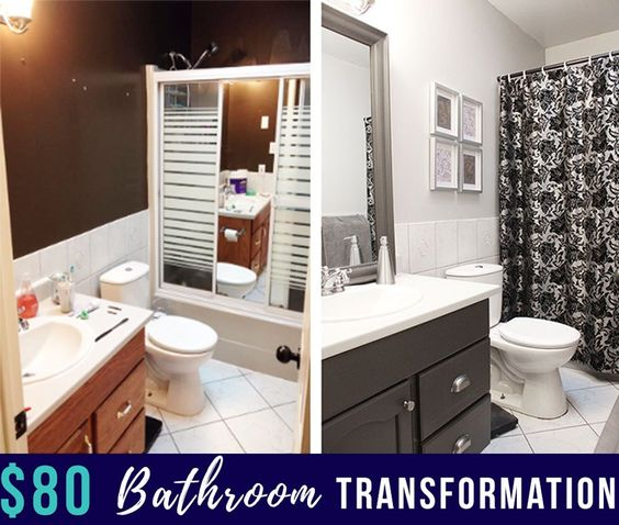 How To Update a Bathroom on a Small Budget - Nikki