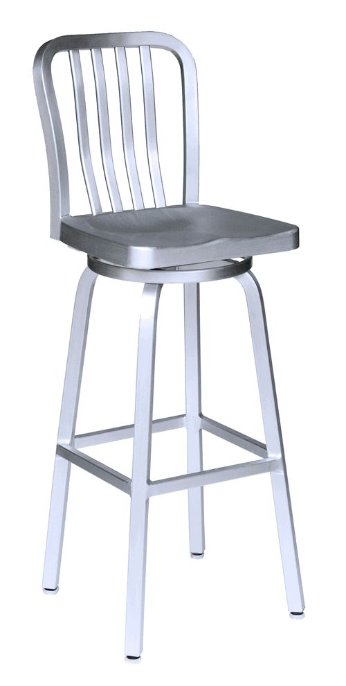 This Swivel Bar Stool Coordinates Well With Our Other Shipyard