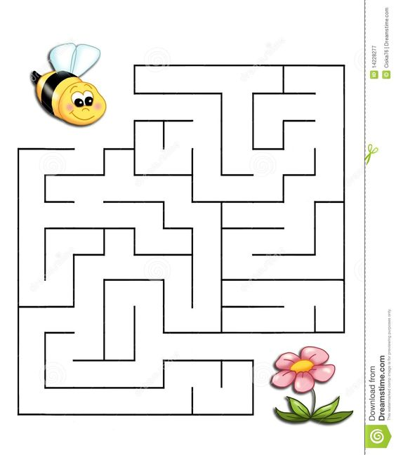 Game 19, The Bee Reaches The Flower - Download From Over 62 Million High Quality Stock Photos, Images, Vectors. Sign up for FREE today. Image: 14228277