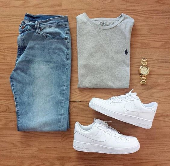 outfit grid light wash jeans stuff to buy pinterest