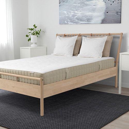 Bjorksnas Cadre De Lit Bouleau Ikea Bedkader Matras Veren Ikea Bed