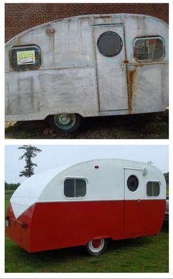 renovar exterior caravana