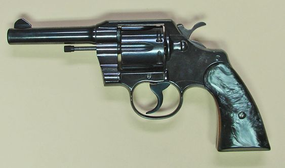 """Colt Official Police 38 Special 4"""" dated from 1964 extra nice condition."""