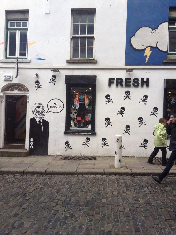 Fresh bar in Dublin, Ireland