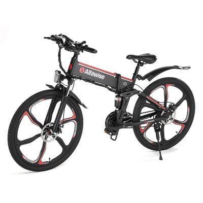 Alfawise X2 Black Eu Plug Electric Bikes Sale Price Reviews Electric Bicycle Folding Bike Electric Bike
