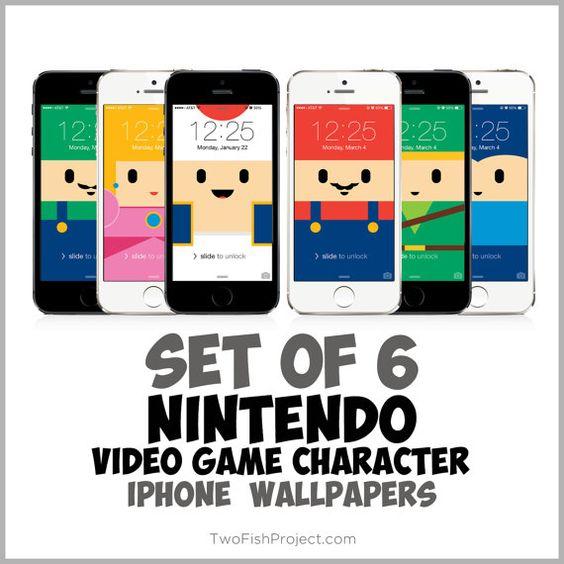 Nintendo Video Game iPhone wallpapers Super Mario Bros