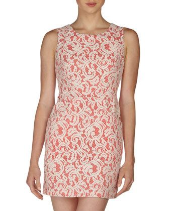 Scarlet Crochet-Lace Dress, Dubarry/Ivory by Tart at Neiman Marcus Last Call.