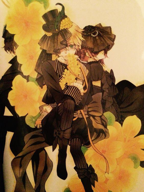 Gilbert, Alice et Oz - Pandora Hearts