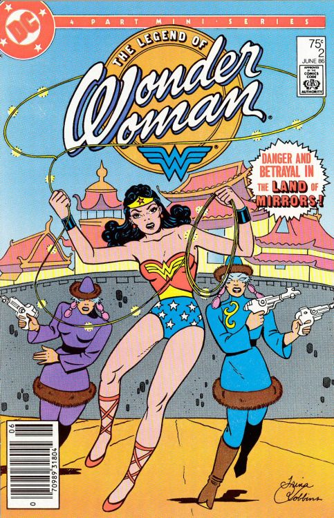 The Legend Of Wonder Woman #2, June 1986, Pencils: Trina Robbins