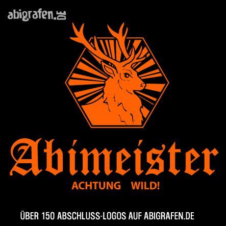 #Abschlusslogo für #Abishirt #Abizeitung #Abibuch & Co: Abimeister