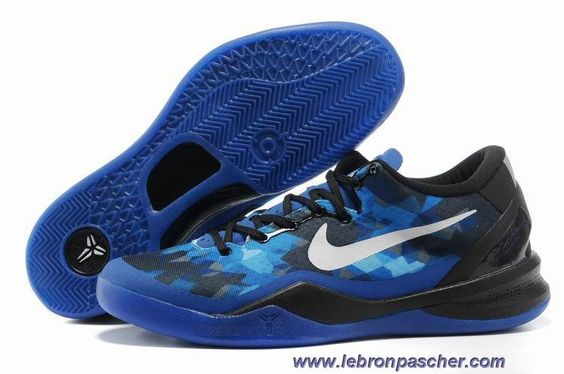 Nike Zoom Kobe VIII 8 royal Bleu Noir 555035-401 Vente
