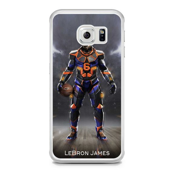Lebron James Nike Samsung Galaxy S6 Edge Case