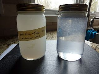 All Free & Clear (left) vs. Norwex laundry detergent (right). Turns out All Free & Clear isn't as free & clear as they'd like you to believe. http://www.lindsayfolkerts.norwex.biz