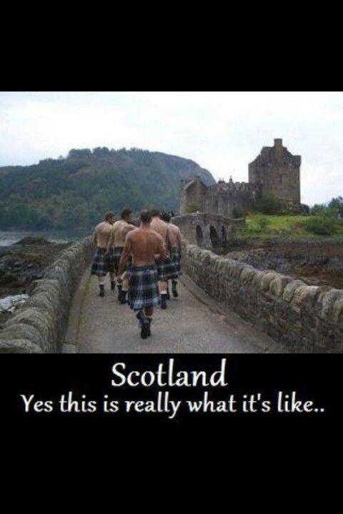Scotland - made me giggle