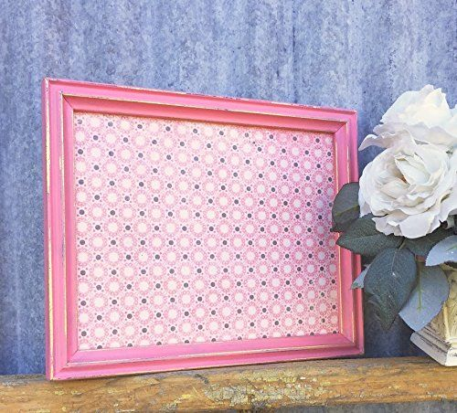 Pink Picture Frame in Shabby Chic Finish, Country Cottage 8 x 10 ...