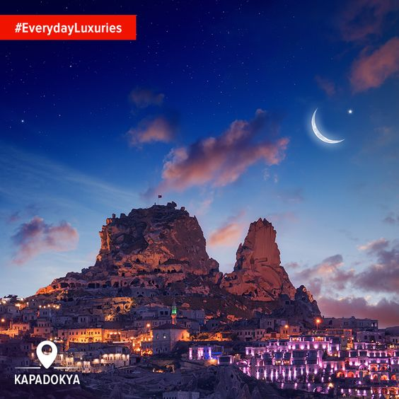 The wonders on the ground are truly exceptional, sure... but it's the night sky that makes it one of life's #EverydayLuxuries in Turkey.