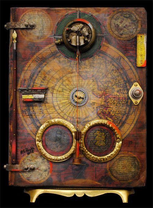 Raymond Papka ... altered book