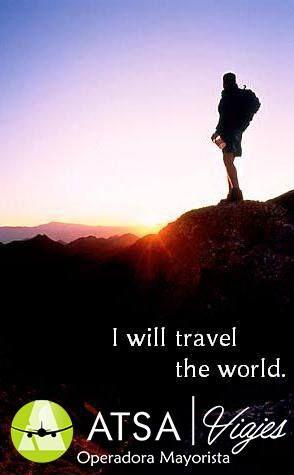 Entre más viajo más me falta por conocer. ATSA viajes tiene los mejores destinos para ti  +Info al 50231008 ext 606  Visita: www.atsaviajes.com  #ATSAviajes #AtreveteAviajar #yoviajoconATSAviajes #RecorriendoElMundo #SinLimites #YoAmoViajar #Viajes #Viajar