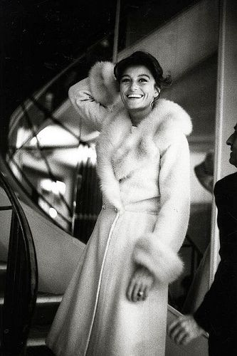 Anouk Aimee chez Chanel, ca. 1960, photo by Sharok Hatami