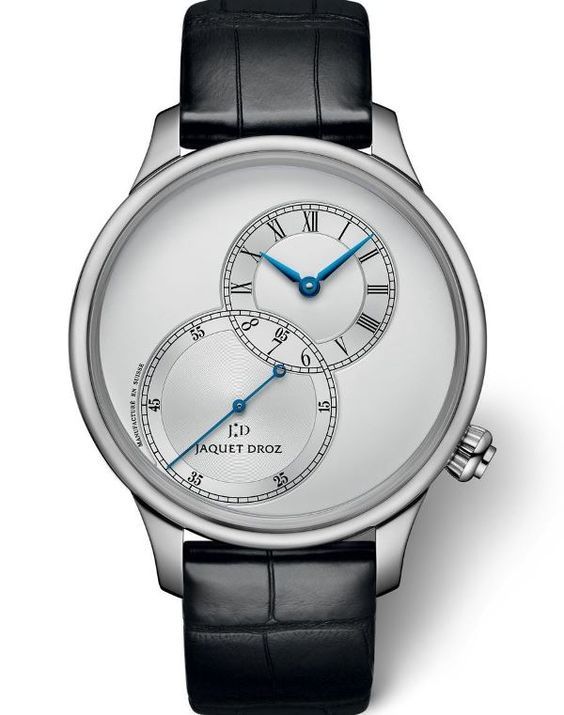 Jaquet Droz Grande Seconde Off-Centered Silver