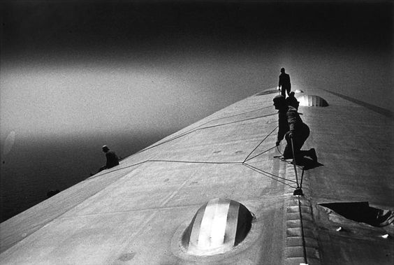 Walking on the Air Ship...: