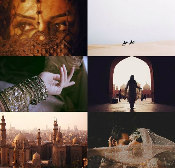 Book aesthetics: 2016 Favorites (The Wrath and The Dawn by Renee Ahdieh):