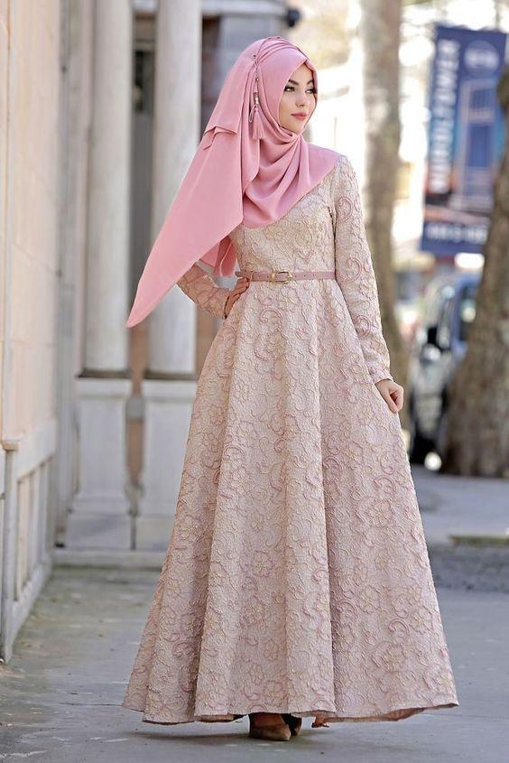 Model Baju Gamis Muslimah Terbaru Untuk Remaja Model Pakaian Model Pakaian Hijab Model Pakaian Muslim