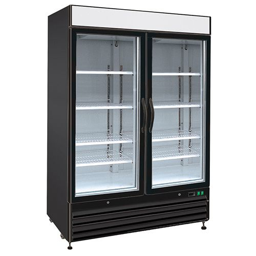 Kratos Glass Door Merchandiser 69k 720hc 2 Swing Doors Upright Freezer Glass Door Commercial Glass Doors