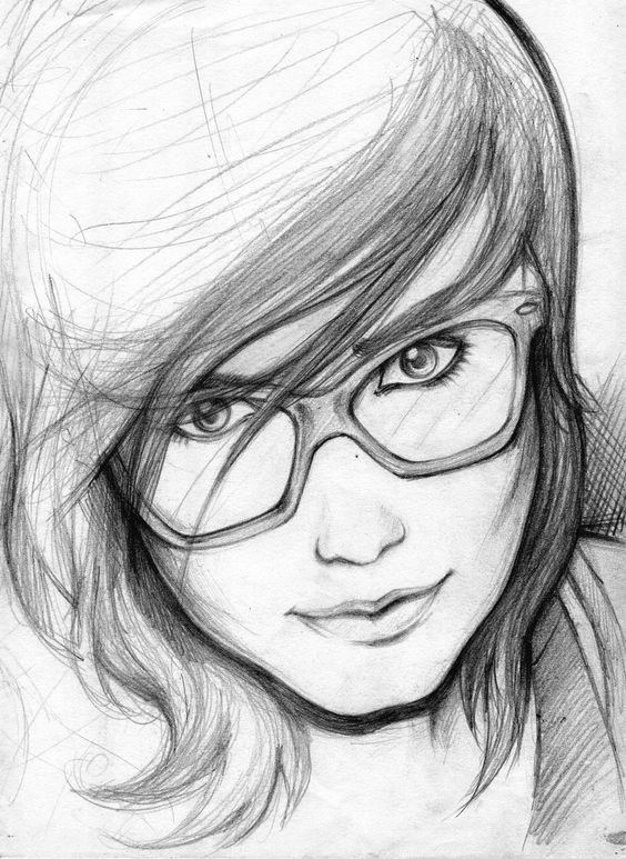 Pencil Sketches of People | Easy Pencil Drawings Of Love Pencil ...