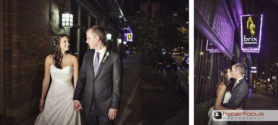 Brix Restaurant, Yaletown, Vancouver - Vancouver wedding reception location, hyperfocus photography