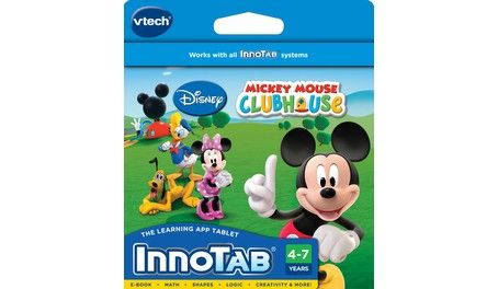 Buy VTech InnoTab Software | InnoTab Learning Cartridge| Mickey Mouse Clubhouse learning games