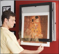 Picture Frame Air Conditioner  LG Art Cool  I really want to install one this summer!
