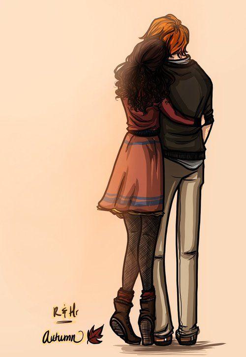 Ron and Hermione - siempre estare con tigo