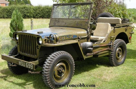 One of 26 cars nominated for Car of the Century. The Willys MB US Army #Jeep and the Ford GPW were manufactured from 1941 to 1945. 640,000 standard vehicles were assembled in Toledo, Ohio.