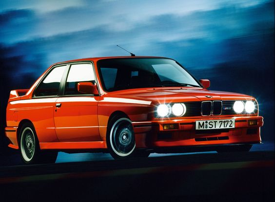 BMW M3 (E30). Owned one of these.