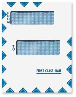 Offset Window First Class Mail Envelope - Peel and Close •Style ...