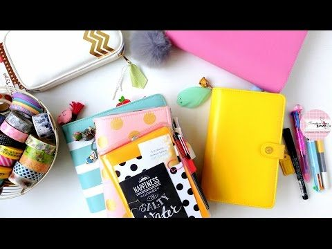 Decorate with Me + Planners Quick Flip through - YouTube