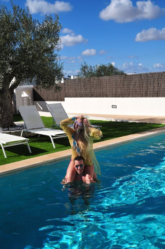 Couple Pool Spain Mallorca | Working With #Palina Pralina | Pinterest |  Families, Spain And Pools