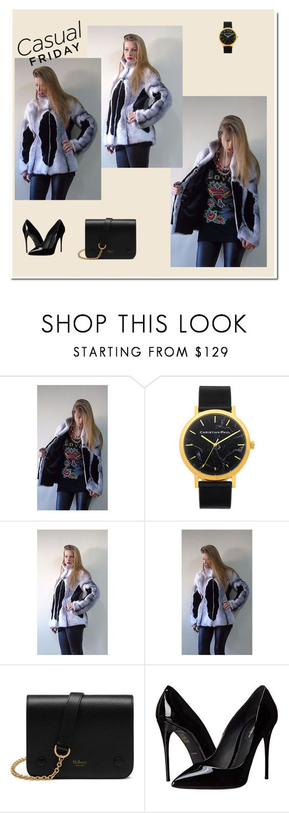 """""""DMB FURS 1"""" by ajdin-lejla ❤ liked on Polyvore featuring Mulberry and Dolce&Gabbana"""