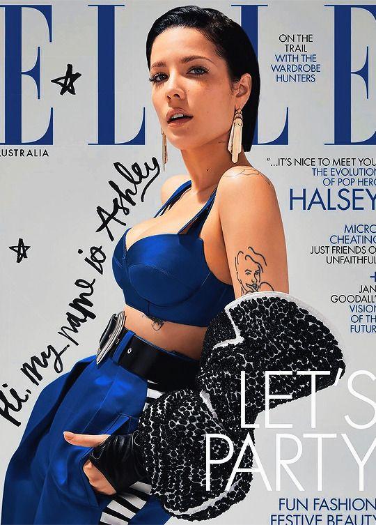 Halsey Vanity Halsey Halsey New Album Elle Magazine