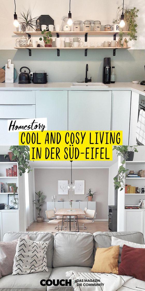 Cool And Cosy Living In 2020 Wohnen Schoner Wohnen Wohnung